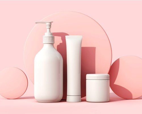 Unbranded packaging units for cosmetic products