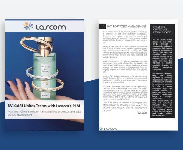 Lascom's cosmetic PLM solution at BVLGARI