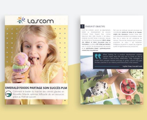 Emerald Foods choisit la solution PLM alimentaire Lascom