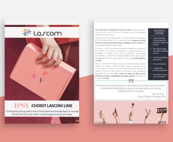 IPSY choisit la solution PLM cosmétique Lascom