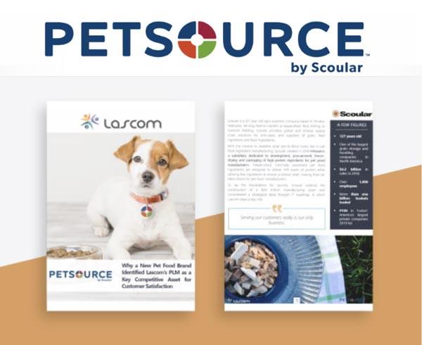 Petsource by Scoular choisit le PLM alimentaire Lascom