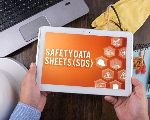 Digital management of Safetey Data Sheets (SDS)