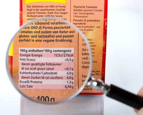 Food labeling challenges