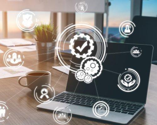 Les éléments nécessaires à la gestion qualité sont interconnectés via une solution digitale.