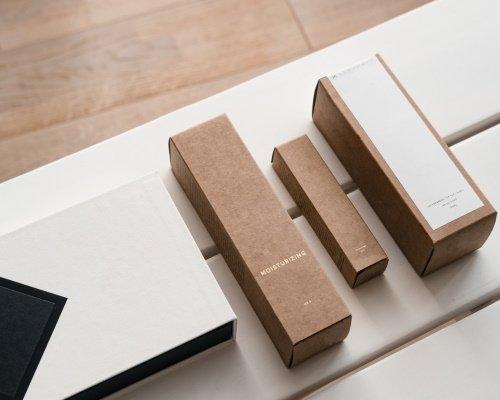 Echantillon d'unités de packaging premium pour produit cosmétique