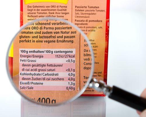 les défis de l'étiquetage alimentaires